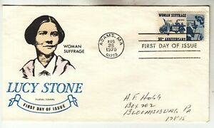 1406 Woman Suffrage Fluegel First Day Cover