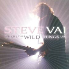 STEVE VAI - WHERE THE WILD THINGS ARE  CD NEW!