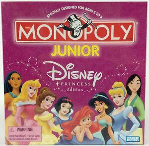 Parker Bros Pop Culture Monopoly Monopoly Junior - Disney Princess Ed SW