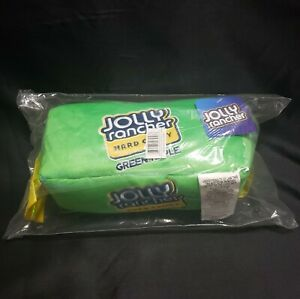 NWT Green Apple Jolly Rancher Hard Candy Plush Novelty Pillow Buddy Embroidered