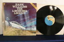 Hank Williams, The Lonesome Legend, MGM Records PTV 1005, 1980, Country