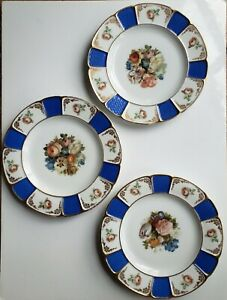 Antique Rosenthal Bavaria Dinner Plate Set Of 3 1930's