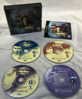 DC Shenmue With 4 Discs And Manual (Sega Dreamcast, 2000) Tested Works Great