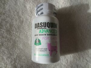 NEW, SEALED IN BOTTLE! DASUQUIN ADVANCED JOINT HEALTH SUPPLEMENT FOR CATS