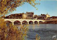 B31476 Val de Loire Amboise le Chateu et le Pont sur Loire   france