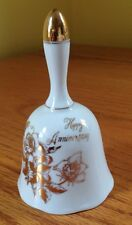 Happy Anniversary Bell Royal Crown 1983 Porcelain