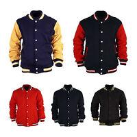 Mens Baseball Letterman Varsity College Jacket Hoodie Jersey Uniform Korea NWT