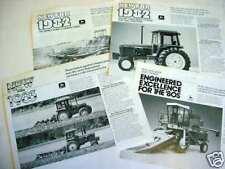 14 John Deere Implement & Machinery Brochures Good Mix