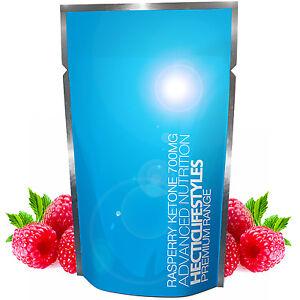 Pure Raspberry Ketone Plus+ 800mg - UK's Highest strength Ketones, No fillers