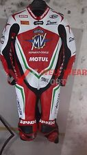 MV Agusta Reparto Corse Motorbike Leather Racing Suit New Model 2017