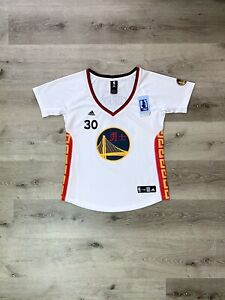 Authentic Adidas Steph Curry Chinese New Year Sleeved Swingman Jersey Rare🔥🔥