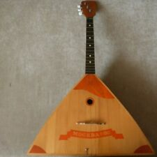 Balalaika USSR, rare,Moscow-80,Olympics,3 strings,original