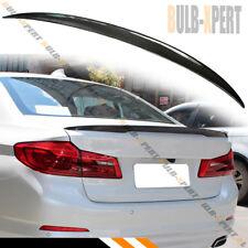 FOR 2017-18 BMW G30 530i 540i 5 SERIES REAL CARBON FIBER TRUNK LID SPOILER WING