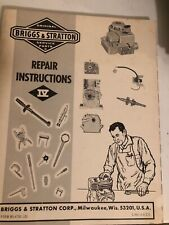 Briggs & Stratton repair instructions iv. Item 69