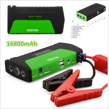 DC12V Portable Car Jump Starter 16800mAh Car Battery Booster Power Bank Charger