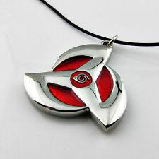 Naruto Necklace Kakashi Hatake Obito Uchiha Mangekyou Sharingan Pendant