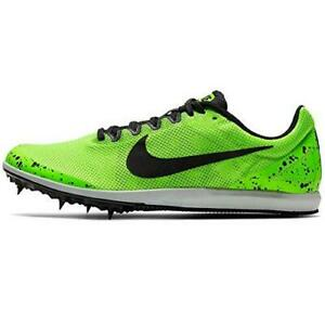 Nike Women's Zoom Rival D 10 Track Spikes NEON GREEN 907567-002 ALL SIZES