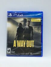 A Way Out PlayStation 4 PS4 New Read
