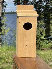 Wood Duck Goldeneye Merganser 1�Solid Cedar House Nesting Box Duck house!