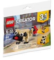 Lego Creator Cute Pug 3 in 1 30542 Polybag BNIP