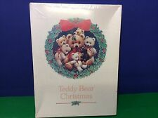 Teddy Bear Christmas Puzzle NIB