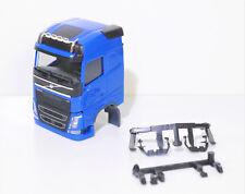 1:87 EM3719 Herpa Volvo Kabine mit Spiegeln in blau für Umbau / Eigenbau NEU