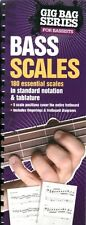 GIG BAG BOOK OF BASS SCALES Spiral Bound