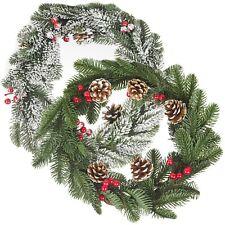 35cm Classic Green Artificial Christmas Wreath Door Wall Hanging Decoration