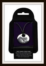 Viking viaggiare sicuro Bind Rune Peltro Ciondolo ~ da ST. JUSTIN ~ GRATIS P&P