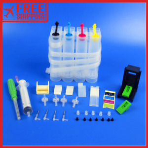 NEW Continuous Ink supply System Accessories Universal Colour CISS Tank Printer