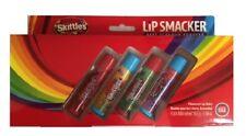 Skittles Fruity Flavour Lip Smacker Kids Lip Balm Gift Set of 4 Sticks