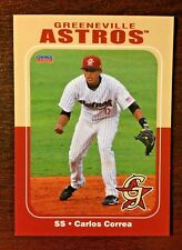 2012 Choice Greeneville Astros Carlos Correa Minor League Baseball Card