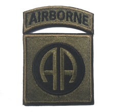 82nd Airborne Infantry Division MILITARY MORALE PATCH  A 1076