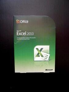 Microsoft Excel 2010 Genuine Full UK Retail 065-06962 Boxed 32/64-bit DVD
