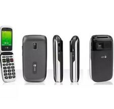 Doro PhoneEasy 612 Black Unlocked Flip Mobile Phone - 12M Warranty