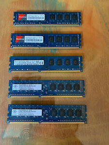 pc ram lot 3-8gb sticks and 2-2gb sticks