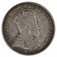 1908 Canada 5 cent Silver Half Dime - ICCS AU50 - See Photos