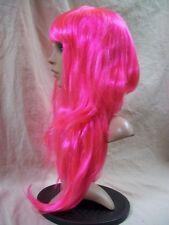 Sexy Hot Pink Bubblegum Wig Asymmetrical Bob w Bangs Nicki Minaj Rapper Pop Star