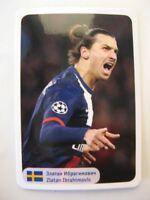 2014 World Stars Zlatan Ibrahimovich team Sweden PSG Manchester Inter RARE
