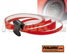 FOLIATEC Pin Striping Farbe ROT Felgen Design Stripes inkl Montagetool