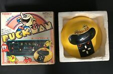 Puck Man Japanese Hand-Held Tomy Tabletop Arcade Game 1981 Original Box Working