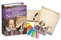 Klebend Notizen - Viel Ado Über Nichts Shakespeare Schreibwaren Büro Schule Spaß