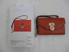 🔥 $80 NEW MICHAEL KORS MK Wallet Clutch Wristlet for Apple iPhone 3GS 4 4S 🔥