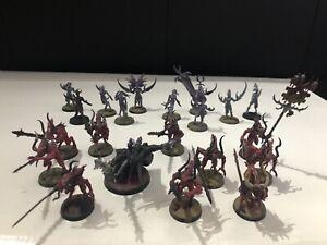 Warhammer 40k skulltaker, bloodletters of khorne (10) daemons of slanesh (10)