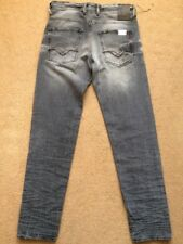 """REPLAY ZONMAM Carrot fit Grey Men's Jeans, Size W29"""", L32"""", RRP£125"""