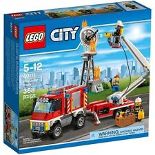 60111 FIRE UTILITY TRUCK set city town lego NEW sealed box legos firetruck