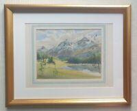 Switzerland ARTHUR VICTOR COVERLEY-PRICE 1901-1988 original signed painting