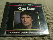 "CD ""SERGE LAMA - MASTER SERIE"" best of 16 titres"