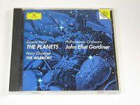 "Holst, Philharmonia Orchestra, Grainger, ""Planets"" ""Gardiner"" ""The Warriors"" CD"