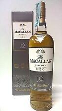 MACALLAN 10 YEARS OLD FINE OAK 70 CL 40% VOL CON BOX